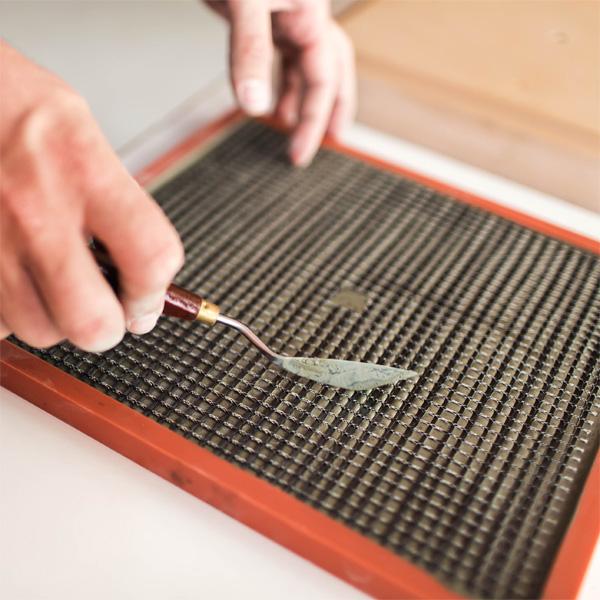 C-CLOCK Herstellung der Uhr aus Beton und Carbon