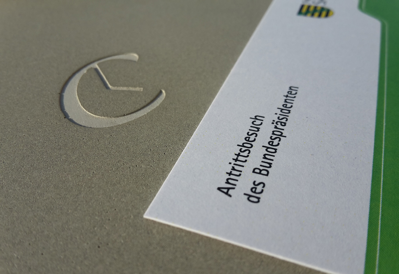 C-CLOCK Bundespräsident
